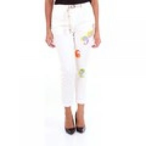 Loose fit-byxor White Sand 19SD6183