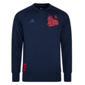 Bayern München Sweatshirt Chinese New Year - Navy/Röd LIMITED EDITION