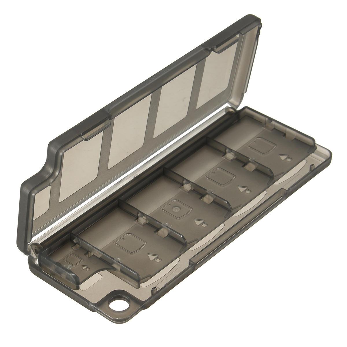 10 i 1 Game Memory Card Case Förvaringsboxhållare till Sony Vita PSV PSV2000 PSV Slimväska