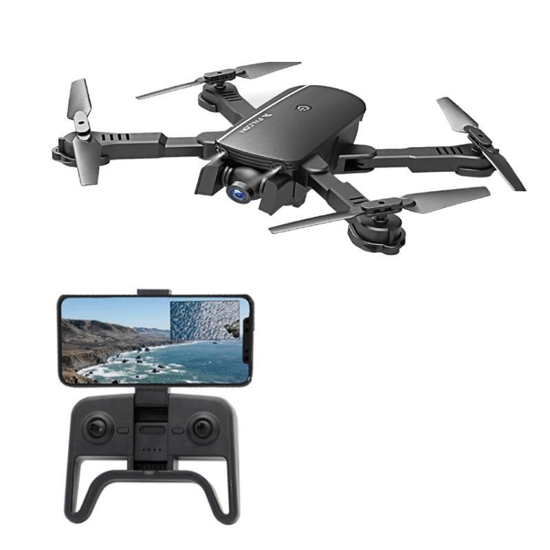 1808 WIFI FPV med 4K vidvinkel kamera Optisk flödeshöjd Hållningsläge Fällbar RC Drone Quadcopter RTF
