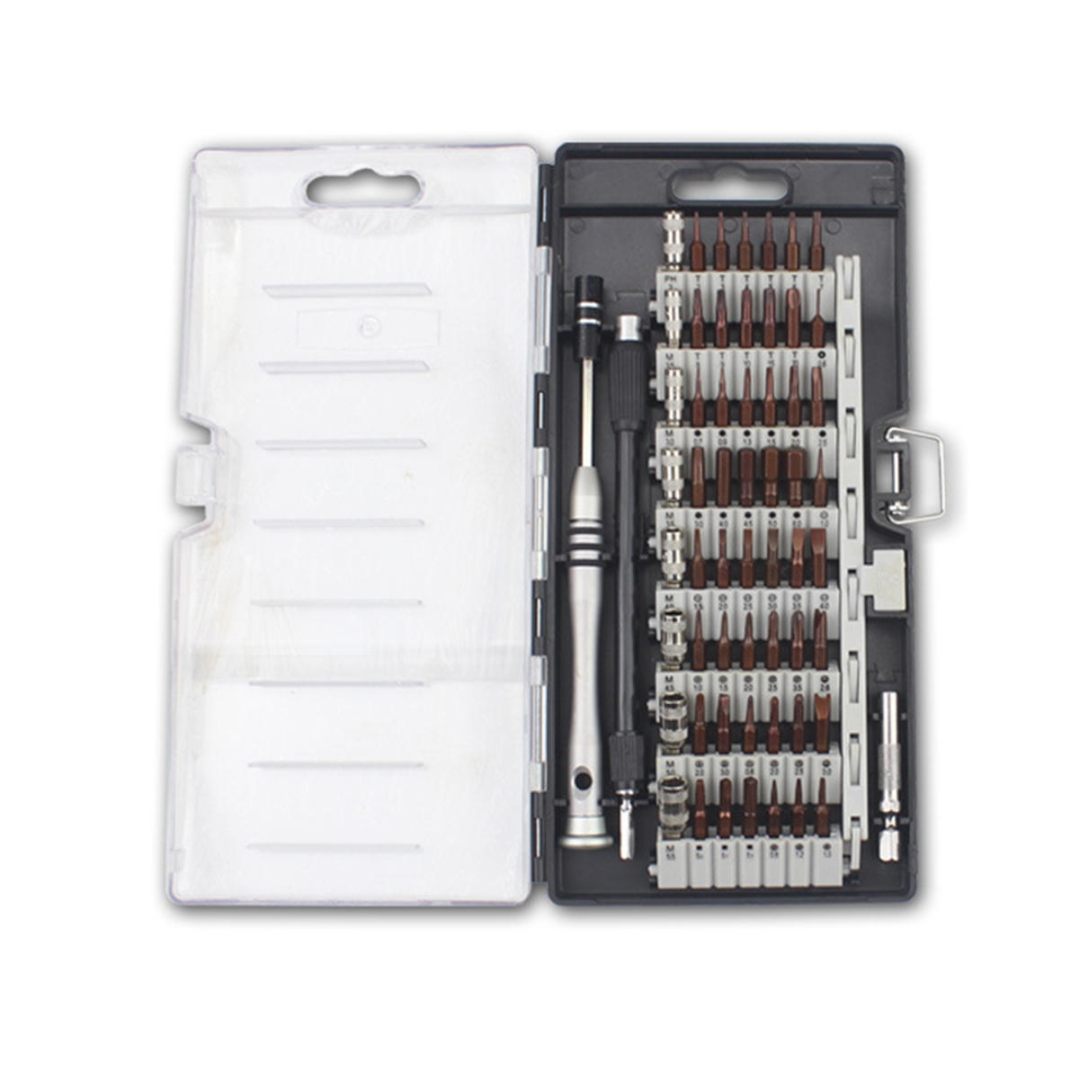 60 i 1 Precisionsskruvmejseluppsättning Magnetisk drivrutin Elektronik Reparationsverktygssats