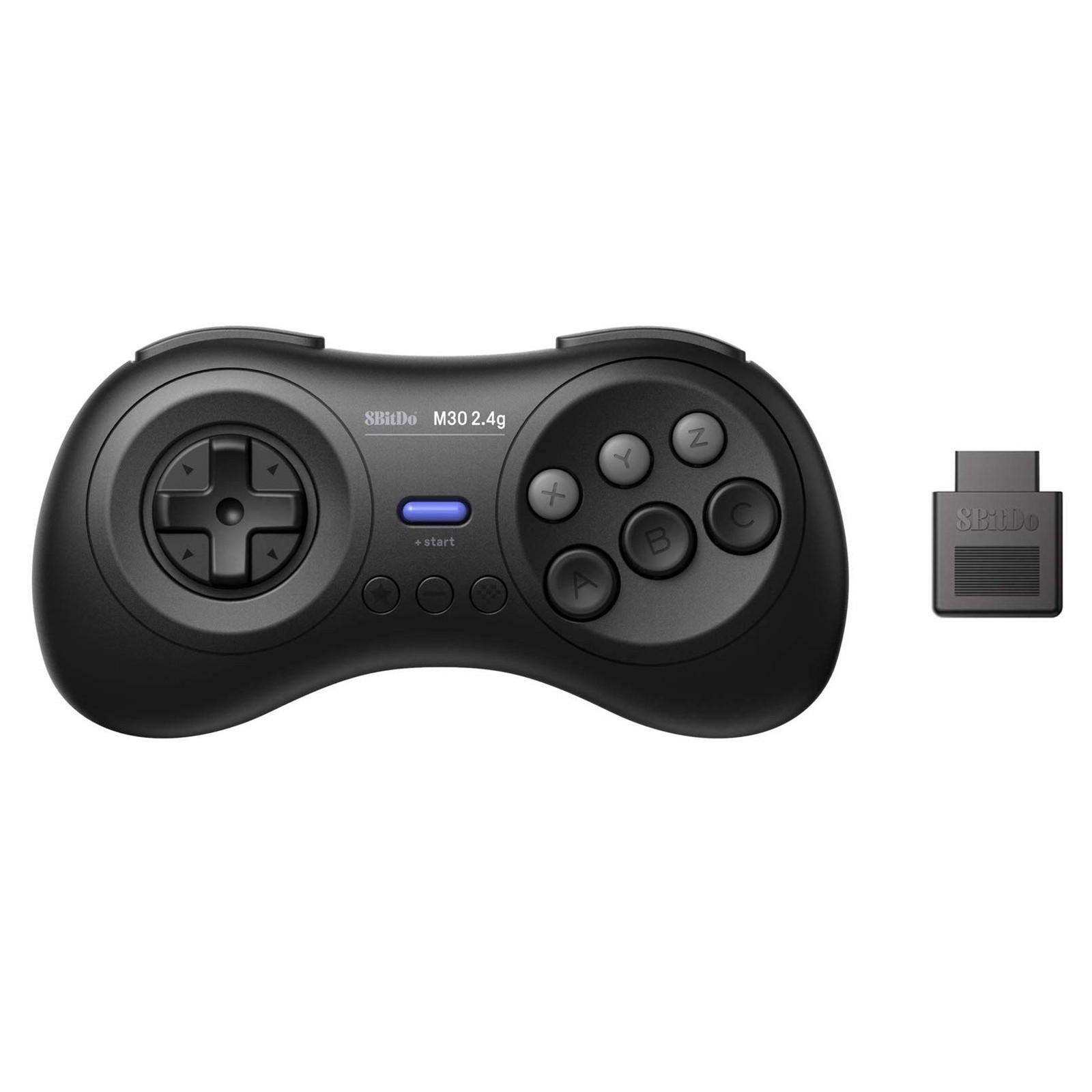 8bitdo M30 2.4G Wireless Mega Gamepad Game Controller för Nintendo Switch för Windows PC