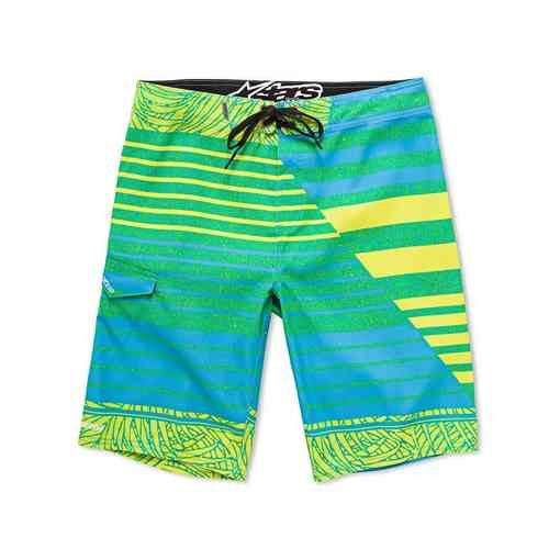 Alpinestars Divided Boardshorts Turkos Blå Gul 29