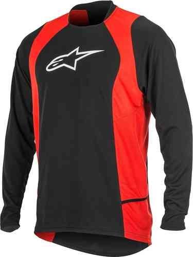 Alpinestars Drop 2 Långärmad skjorta Svart Röd S