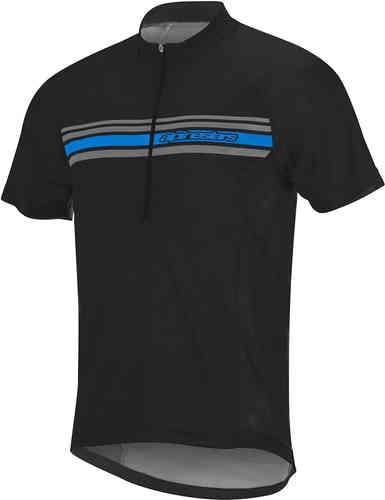 Alpinestars Lunar Cykel Jersey Svart Blå S