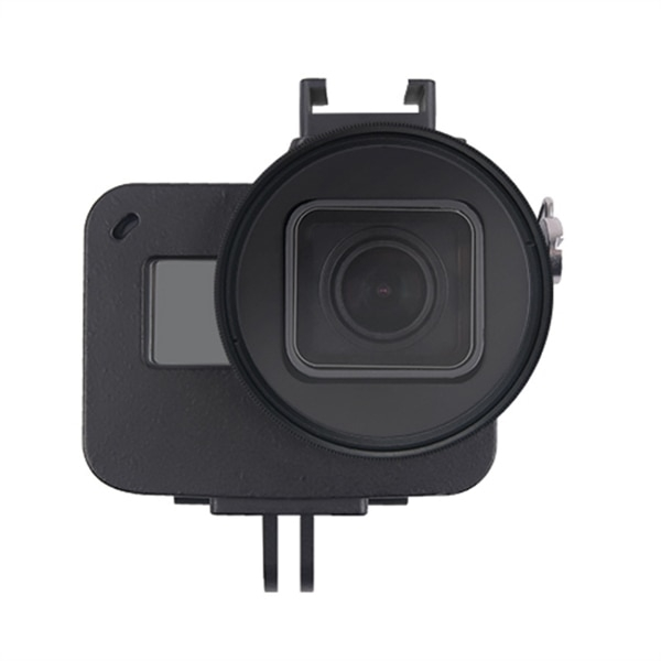 Aluminiumskal GoPro HERO7 Black /6 /5 med 52mm UV Lins