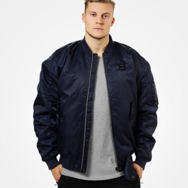 Astor Bomber Jacket, Navy Blå Large