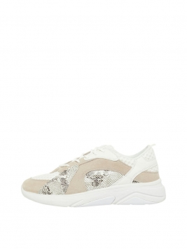 BIANCO Chunky Sneakers Kvinna Beige