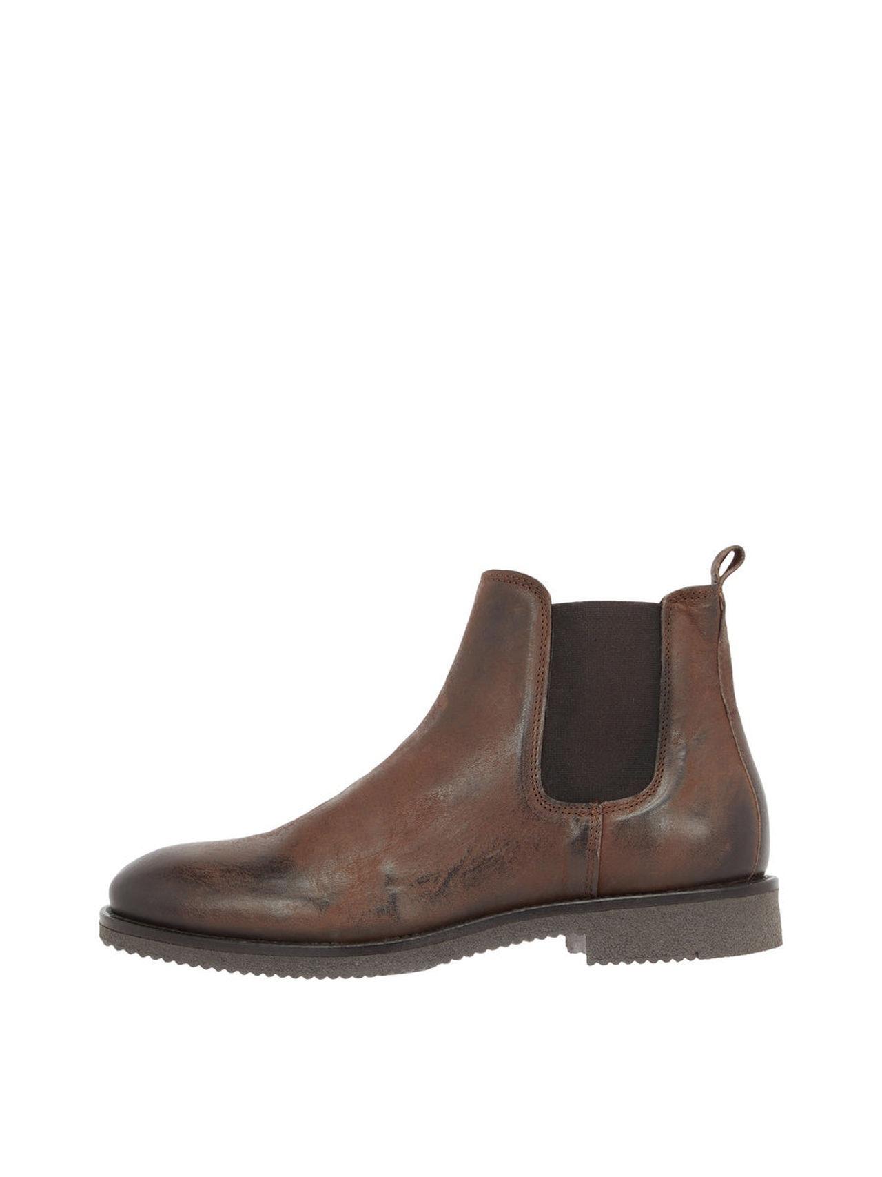 BIANCO Men's Chelsea Boots Man Brun