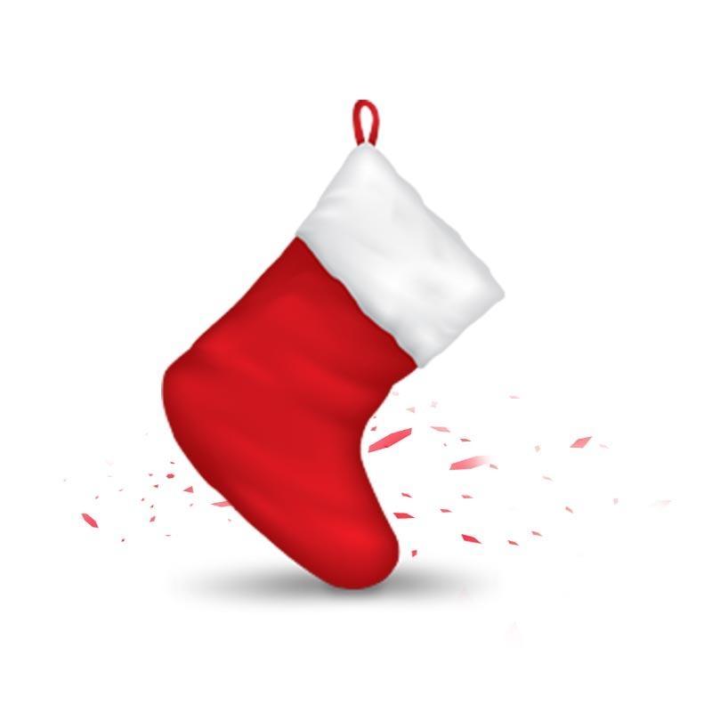 Banggood Trådlös Bluetooth-hörlurar Jul Lucky Stocking
