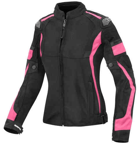 Berik Mesh X Ladies Summer textil jacka Svart Rosa 50