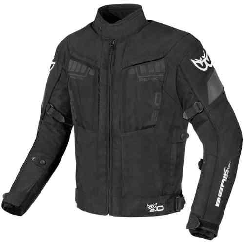 Berik Nardo Motorcykel textil jacka Svart 50