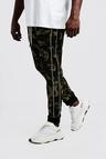 Big & Tall Camo Trouser With Piping