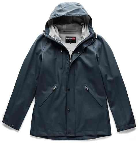 Blauer Easy Rain Man Coat Blå M