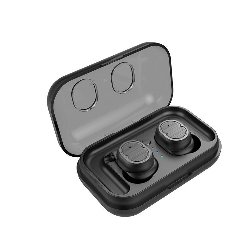 [Bluetooth 5.0] True Wireless Bluetooth Earphone Touch Control Stereo IPX5 Vattentät Örhängen