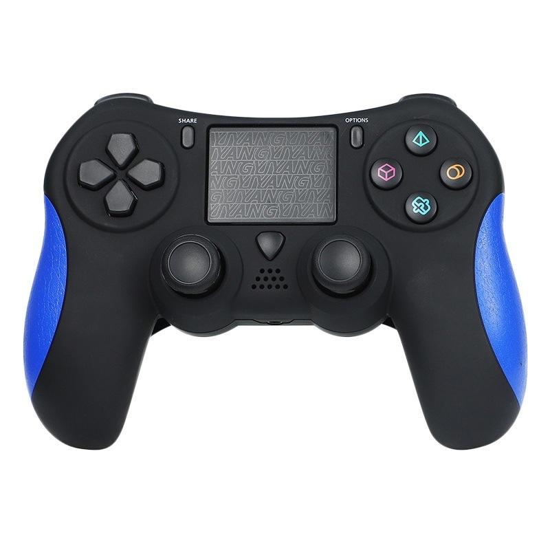 Bluetooth Wireless Gamepad med Light Strip för iOS-spelkontroller för Playstation 4 PS4 Spelkonsol