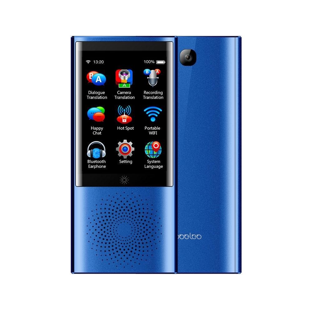 Boeleo W1 Smart Voice Translator 4G WIFI 77 Språk Photo Translator Tourist Learning Two Way