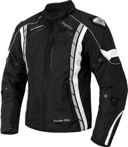 Bogotto Zonder Evo Motorcykel textil jacka Svart S