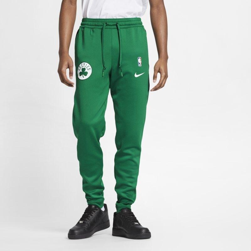 Boston Celtics Nike Therma Flex Showtime NBA-byxor för män – Grön