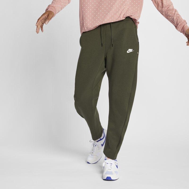 Byxor Nike Sportswear Tech Fleece för män – Olive