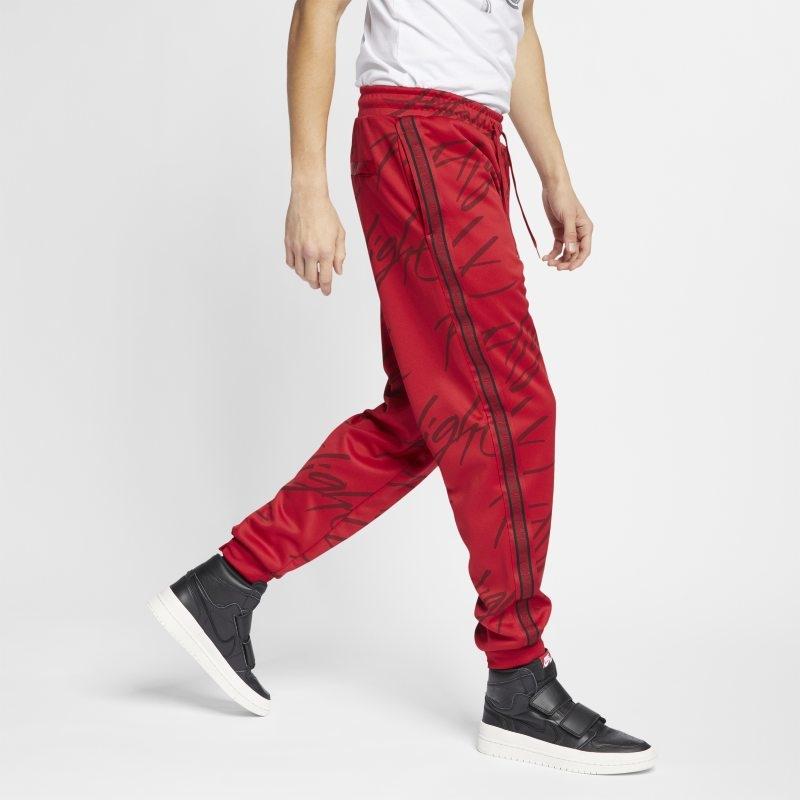Byxor med tryck Jordan Jumpman Tricot för män – Röd