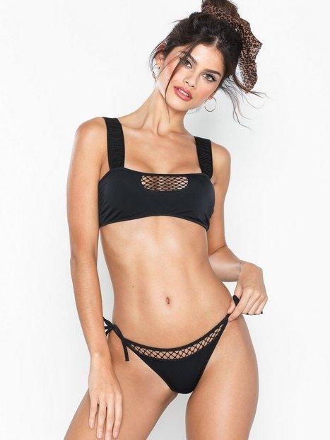 Calvin Klein Underwear Mesh String Side Tie Bikini Trosa