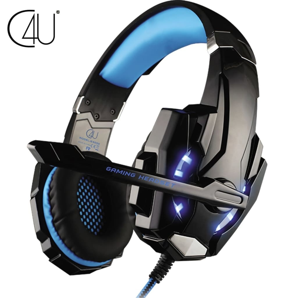 Case4you Playstation 4 / PS4 PRO Gaming hörlurar C4U G9000 Mic headset