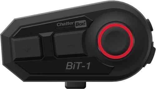 ChatterBox BiT-1 Bluetooth Kommunikation System enda Pack Svart en storlek