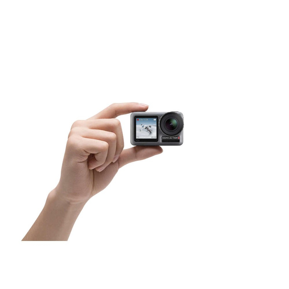 DJI Osmo Action Dual Skärmar 4K 60FPS HD Spela in Vattentät FPV Action kamera med 8x långsam Motion RockySeady