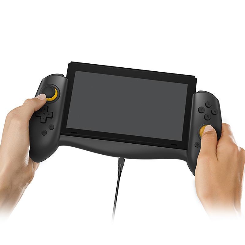 DOBE TNS-18133B1 grepphandtag halkfri konsolhållare för Nintendo Switch spelkonsol
