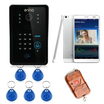 ENNIO SYWIFI002IDS WIFI Trådlöst videoportelefonsystem med kortlåsfunktion och fjärrkontroll