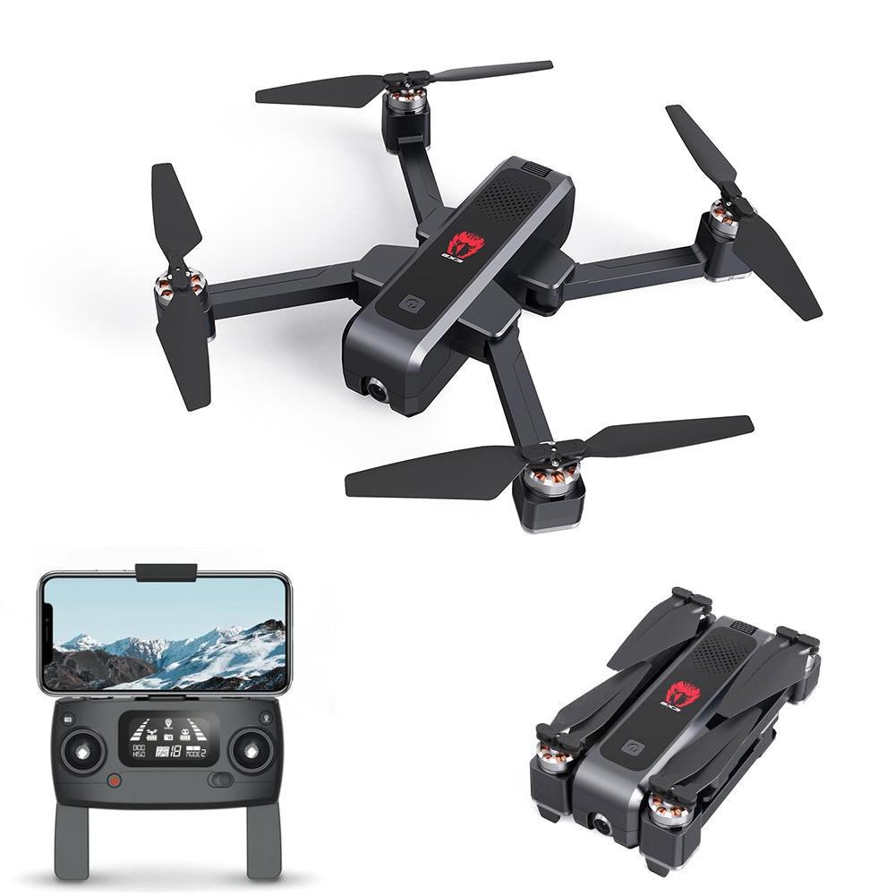 Eachine EX3 GPS 5G WiFi FPV med 2K Kamera Optisk Flöde OLED Switchable Remote Brushless Foldable RC Drone Quadcopter RTF