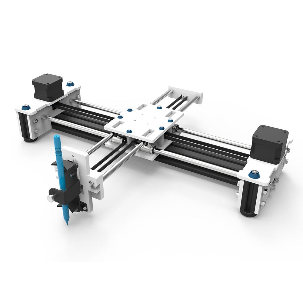EleksMaker® EleksDraw XY Plotter Pen Ritning Skrivning Robot Ritning Machine med 2500mW Laser Module