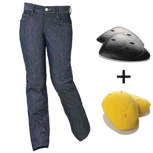 Esquad Clyde Jeans för damer Blå 28
