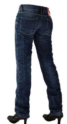 Esquad Louisy Jeans för damer Blå 28
