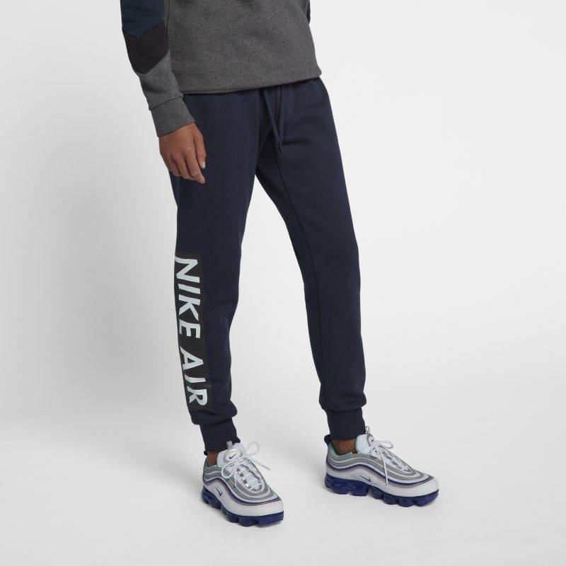 Fleecebyxor Nike Air för män – Blå