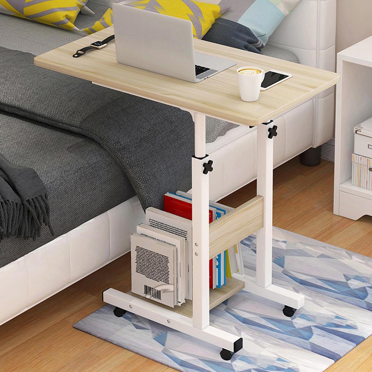 Flyttbar bärbar dator Skrivbord Hem Säng Latbord Nattduksbord Student Sovsal Studiebord Skrivbord