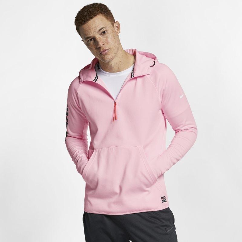 Fotbollshuvtröja Nike F.C. för män – Rosa