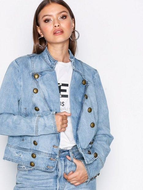 Free People Ferry denim jacket Jeansjackor