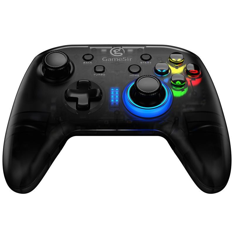 Gamesir T4 2.4G Wireless Turbo Gamepad för Playstation PC Steam for Switch för Xbox Game Platform