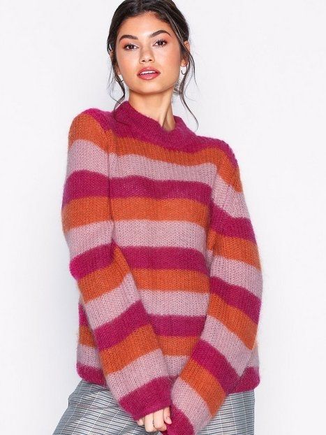 Gestuz Holly stripe pullover Stickade tröjor