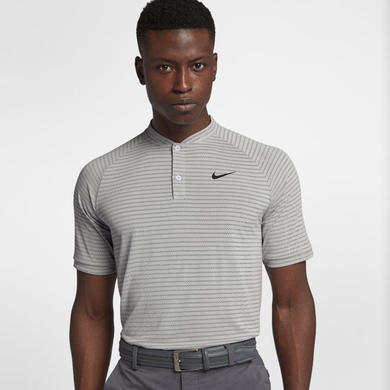 Golfpikétröja Nike Zonal Cooling TW för män – Grå