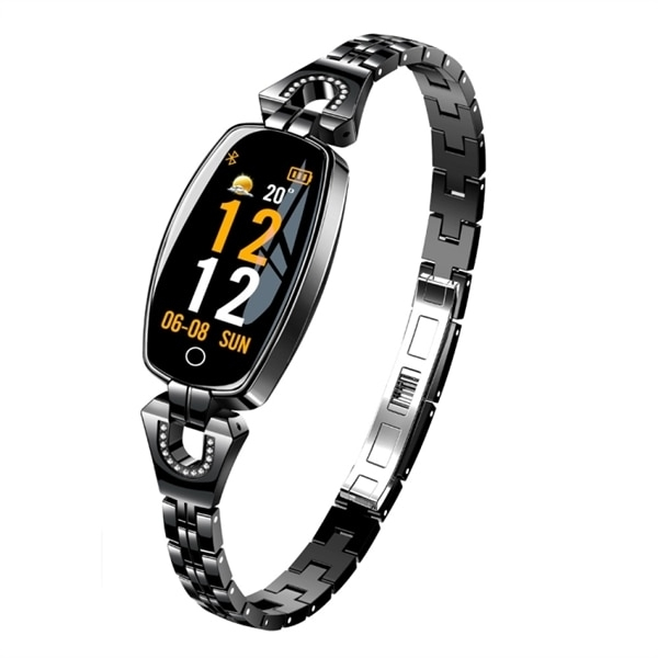 H8 Fashion Smartwatch IP67 Svart
