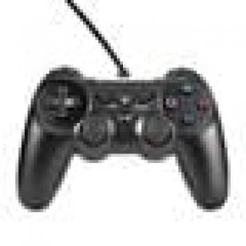 Handkontroll till Playstation 4 - trådad PS4 kontroll (svart)