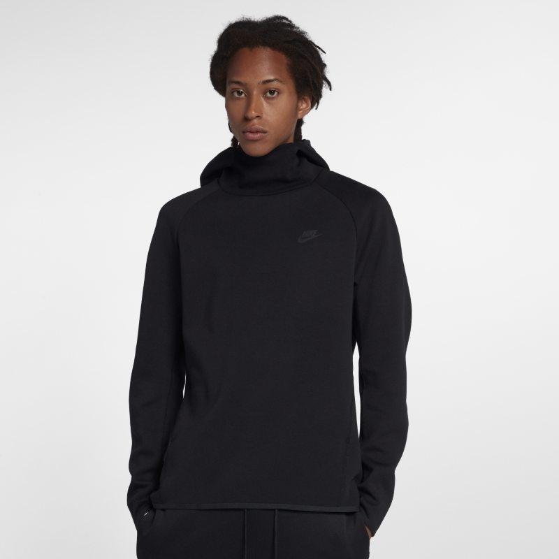 Huvtröja Nike Sportswear Tech Fleece för män – Svart