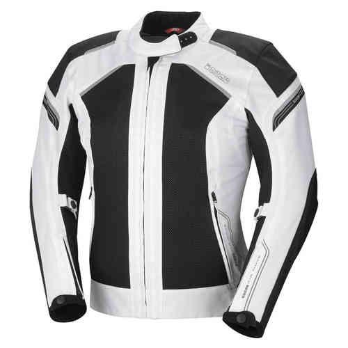 IXS Zephyra Dam motorcykel textil jacka Svart Vit L
