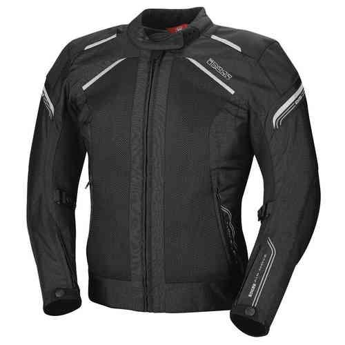 IXS Zephyra Dam motorcykel textil jacka Svart XL