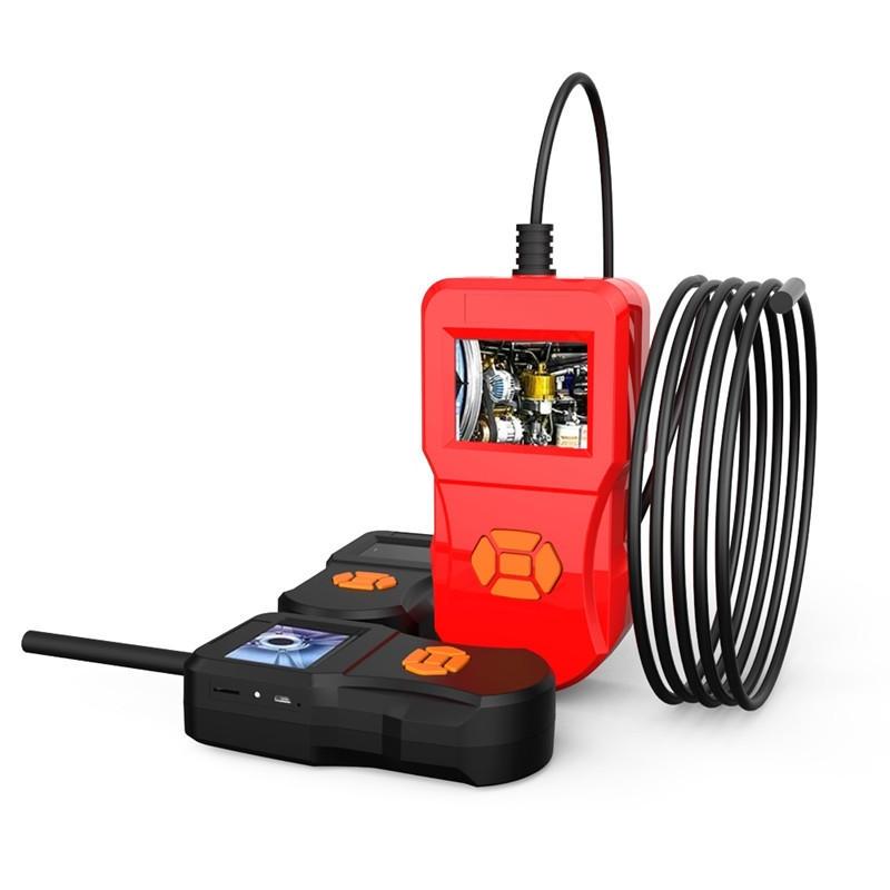 Inskam127 2,4 tum IPS HD Skärm 5.5mm Kamera Diameter Digital Detektion boroskop Video & Foton Funktion Industriell Hushå
