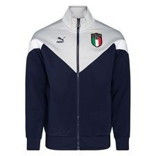 Italien Track Top Iconic – Navy/Grå