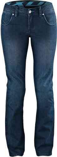 Ixon Britney Ladies MC Jeans byxor Blå XS